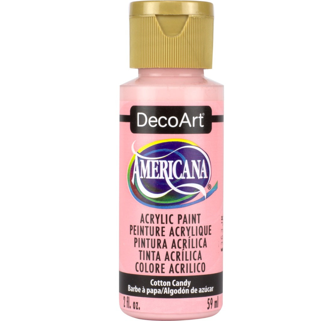 DecoArt Americana acrylic in Cotton Candy - perfect for Folk Art painting