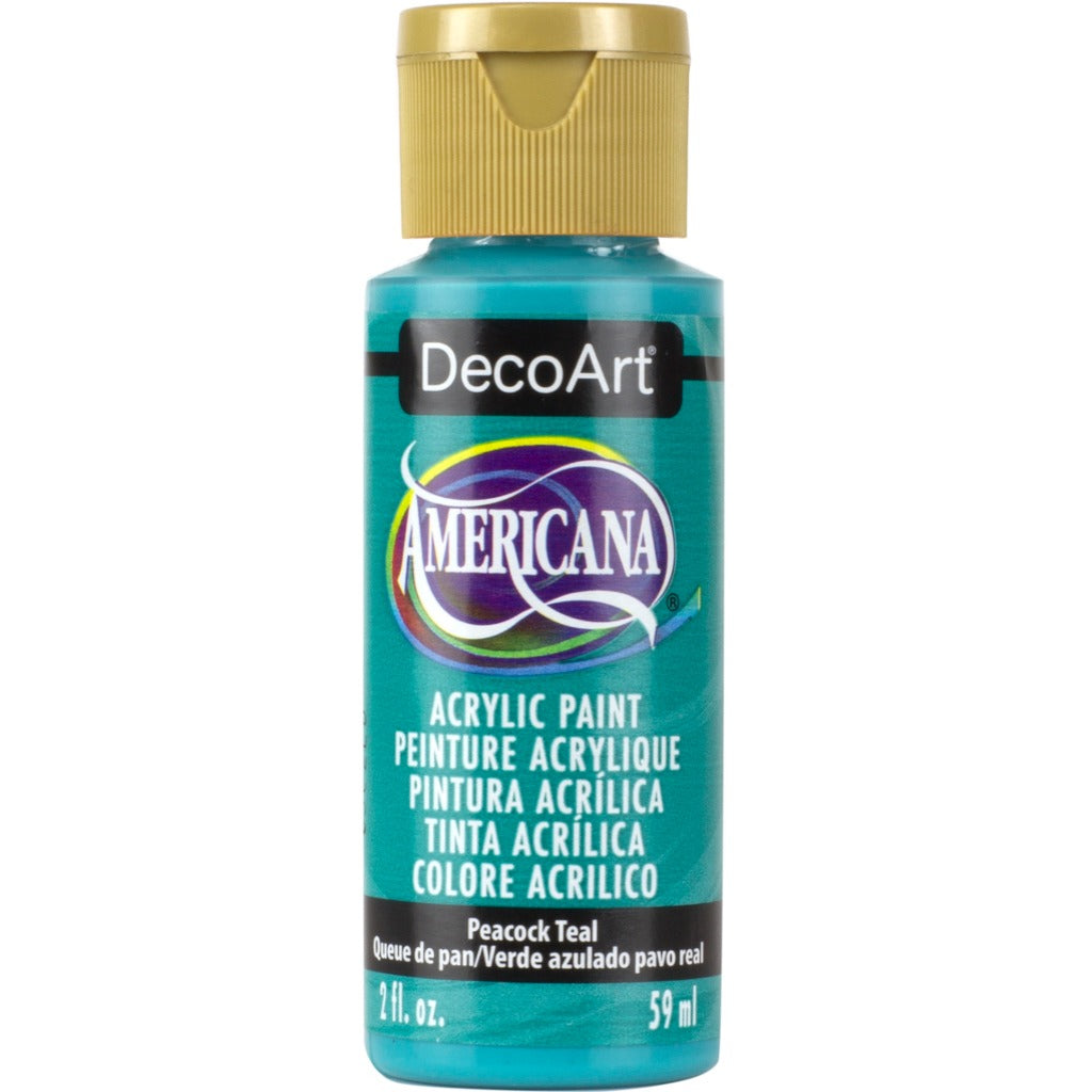 Peacock Teal 2oz Americana