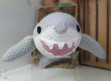 Load image into Gallery viewer, Hand-crocheted Shark