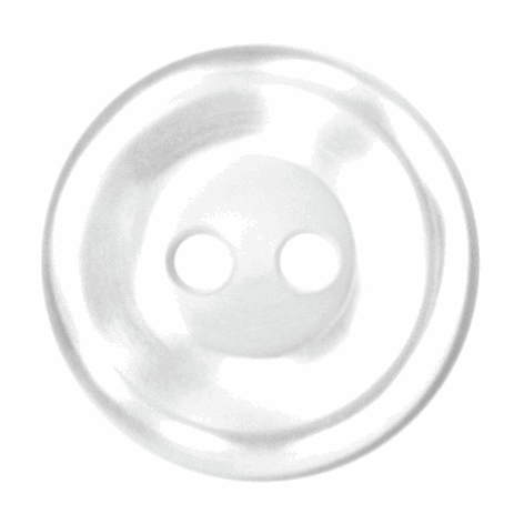 white button 2 hole 14 mm