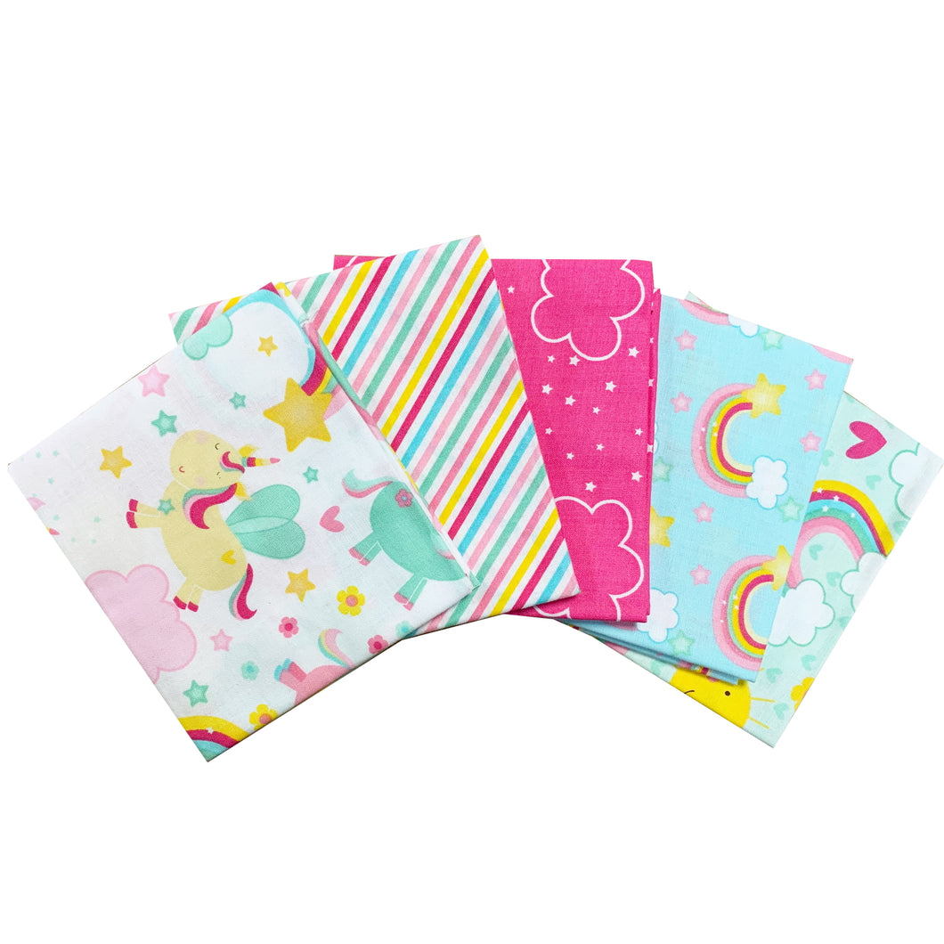 Fat quarters - Unicorns