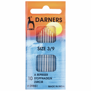 darning needles size 3/9