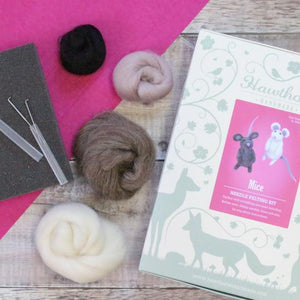 Mice Needle Felting Kit