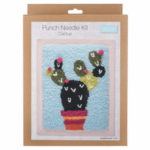 Load image into Gallery viewer, Punch Needle Kit - cactus