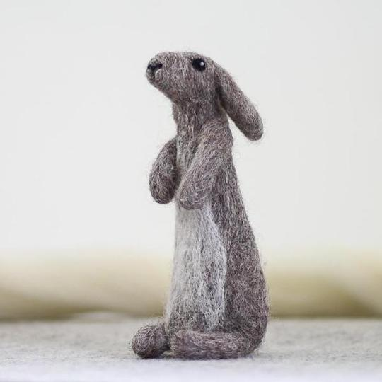 Rabbit Needle Felting Kit