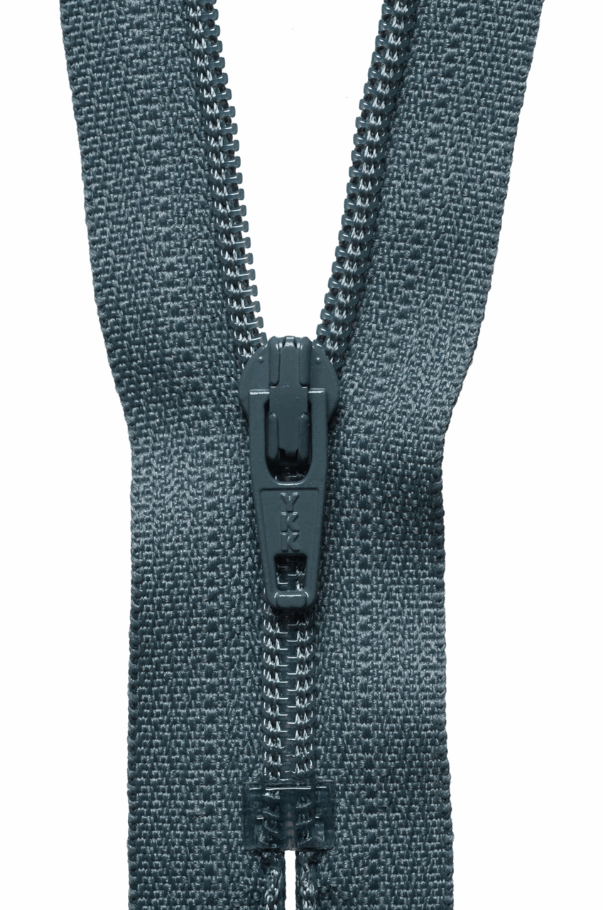 Nylon Open End Zip: 46cm/18.11in