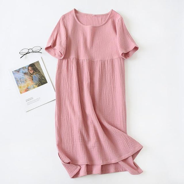 Women Night Gown Sexy Sleeping Dress