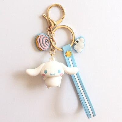 Cartoon Pom Pom Purin keychain