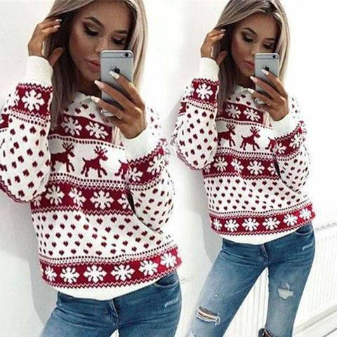 Autumn Winter Christmas Sweater