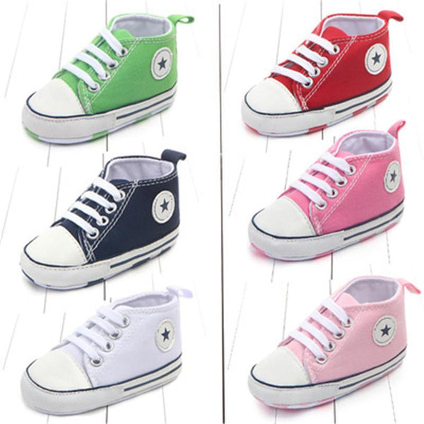 Boys Girls First Walkers Shoes