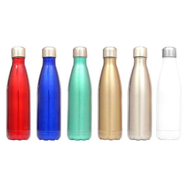 Water Bottle Thermal Cold Cup Sports Kettle