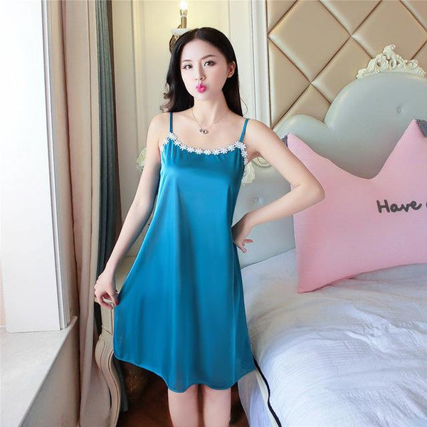 Sleepwear Lace Robe Sexy Night Gown Women