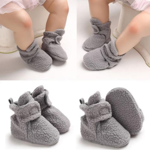 Baby Girl Boy Fleece Shoes