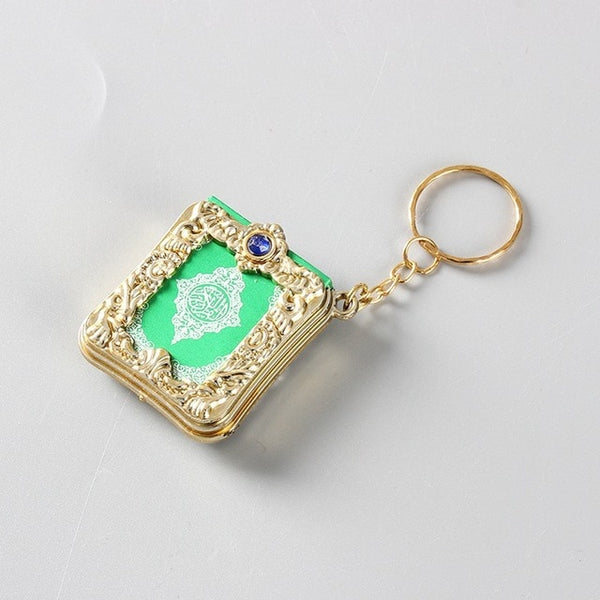 Paper Can Read Pendant Keyring