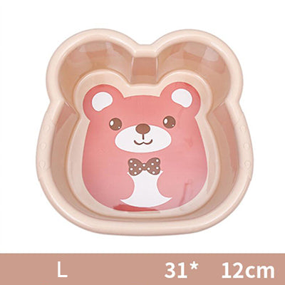 Washbasin Plastic Basin Cute Cartoon