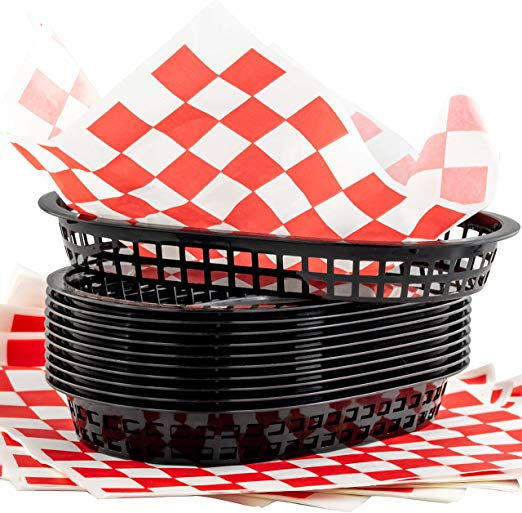custom printed  basket liners    low minimums, high quality pricing and materials.
