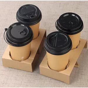 custom printed  coffee cup holders    low minimums, high quality pricing and materials.