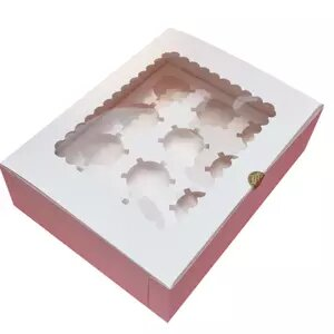 custom printed  cupcake boxes   low minimums, high quality pricing and materials.