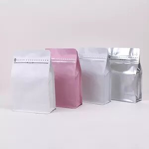 custom printed  flat bottom coffee pouches    low minimums, high quality pricing and materials.