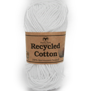 Recycled Cotton Hvid