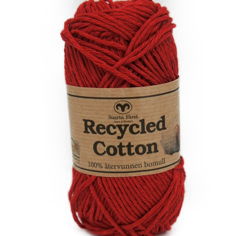 Recycled Cotton Rød