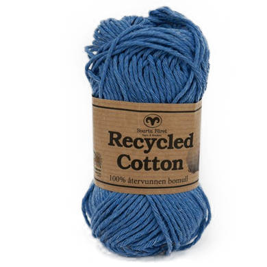 Recycled Cotton Blå