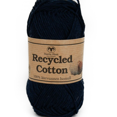 Recycled Cotton Marineblå