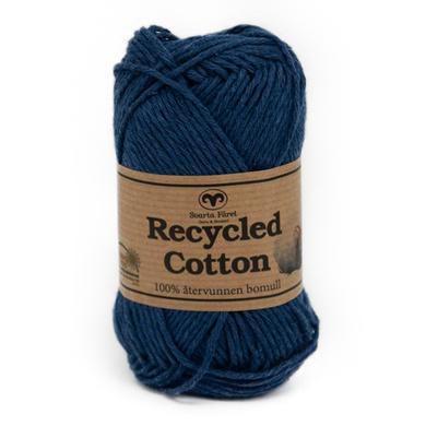 Recycled Cotton Jeansblå