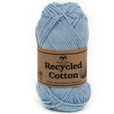Recycled Cotton Lyseblå
