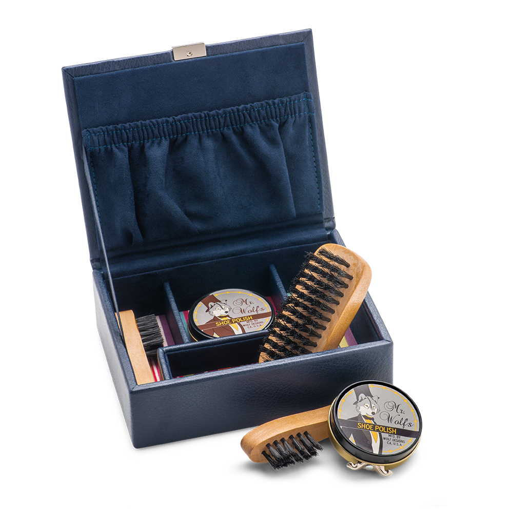 Wolf Shoe Shine Kit