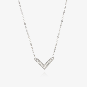 Anna Beck Silver Arrow Necklace