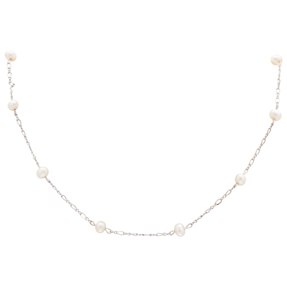 Children's Sterling Silver Freshwater Pearl Necklace
