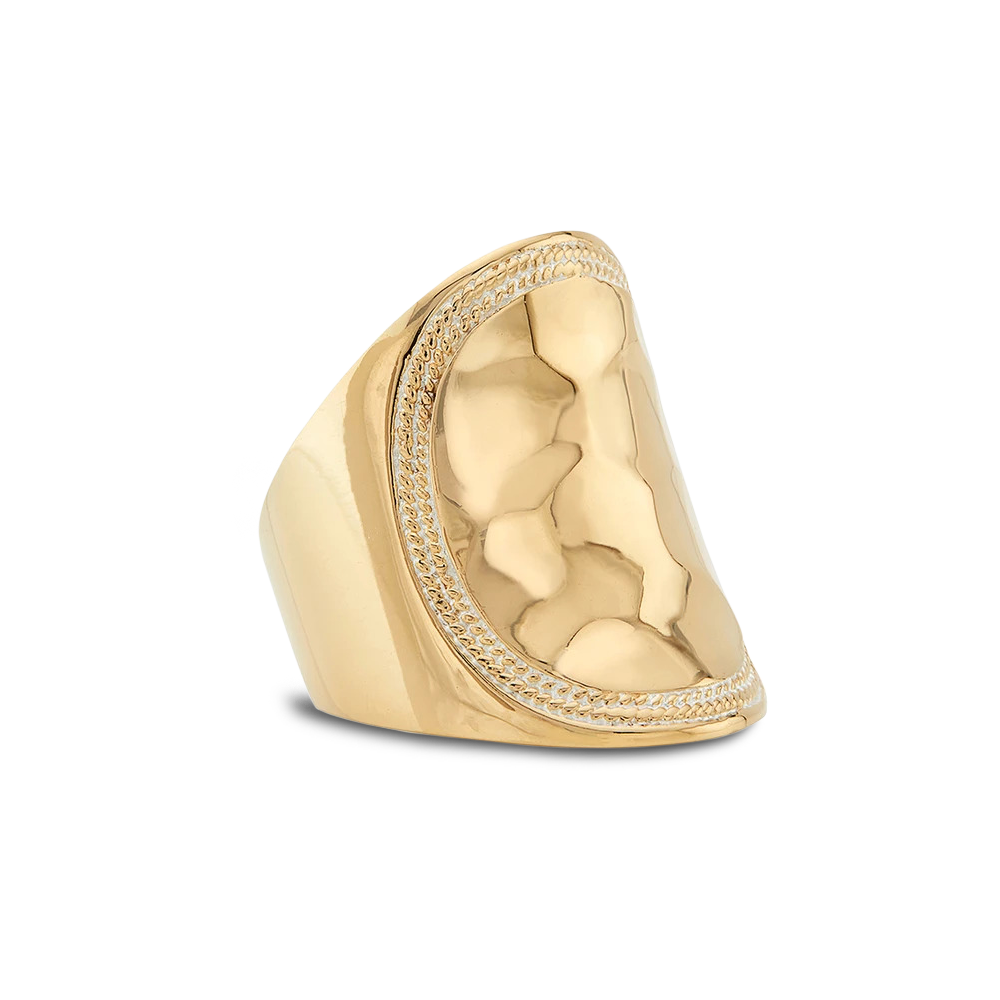 Anna Beck Saddle Back Ring (gold tone)