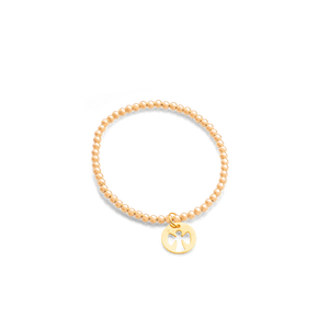 eGirl Children's Gold Filled Guardian Angel Bracelet