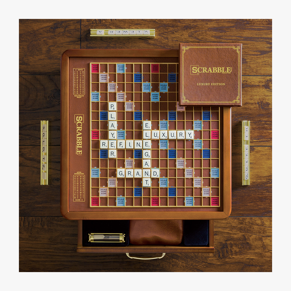 Luxury-Edition Scrabble Board