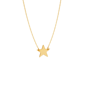 Gold Mini Star Necklace