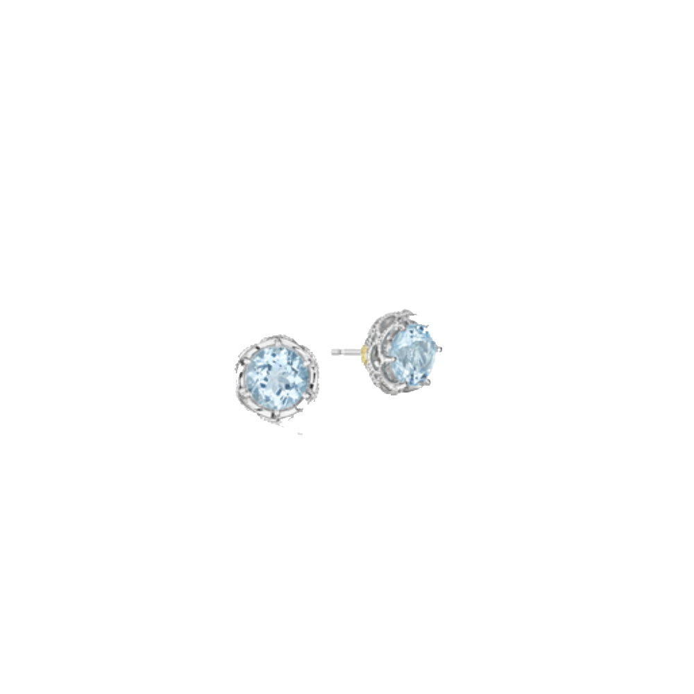 Tacori Blue Topaz Stud Earrings