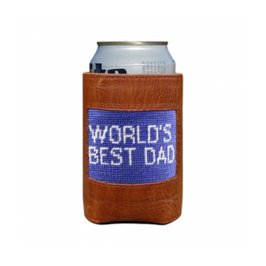 World's Best Dad Can Cooler