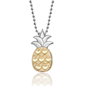 Alex Woo Pineapple Pendant on chain