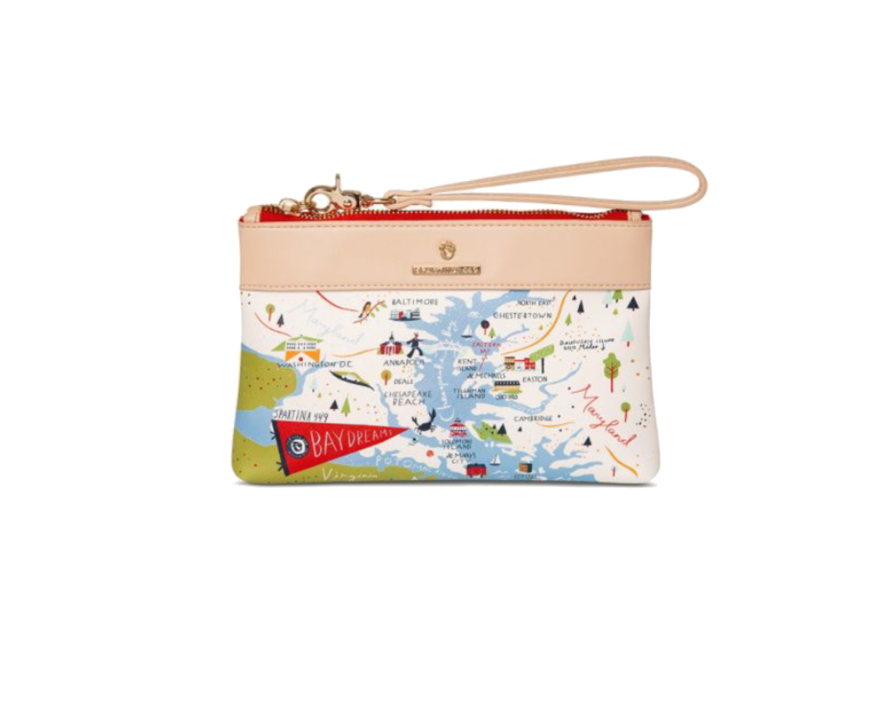 Spartina Bay Dreams Wristlet