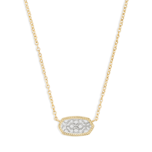 Kendra Scott Elisa Two-tone Filigree Mix Necklace