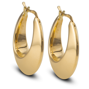 Gold Hoops Graduated Design