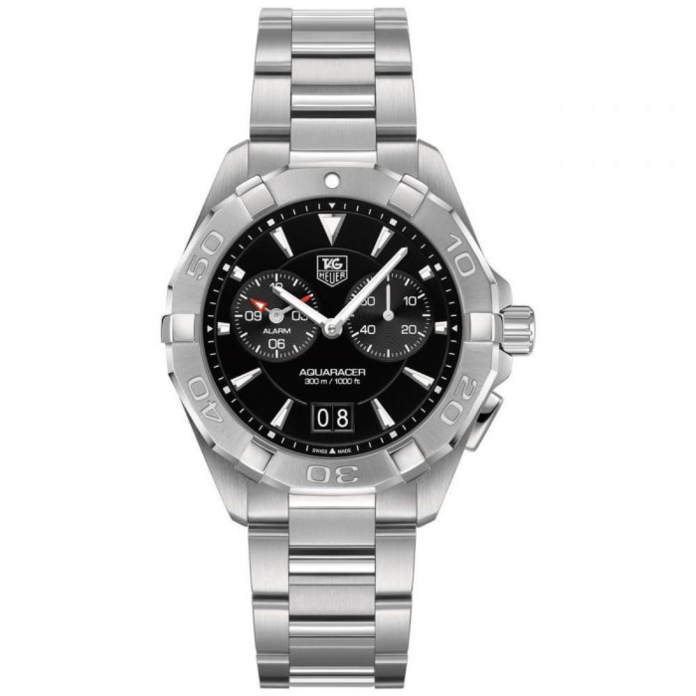 Tag Heuer Aquaracer Quartz Watch - Diameter 41 mm - Black