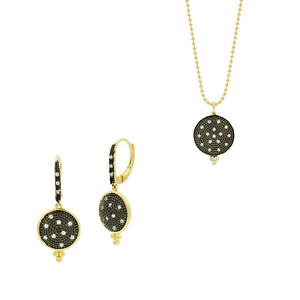 Freida Rothman Earring and Pendant Set