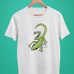 Lounge Lizard T-shirt - Illustrated Lizard T-shirts by Hector and Bonevto