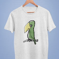 Peter Parrot T-shirt - Illustrated Parrot T-shirts by Hector and Bonevto