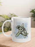 Myrtle the Sea Turtle T-shirt design by Hector and Bone