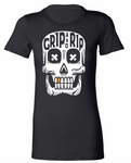"""Grip 'N Rip"" OG Skull Women's T-Shirt"