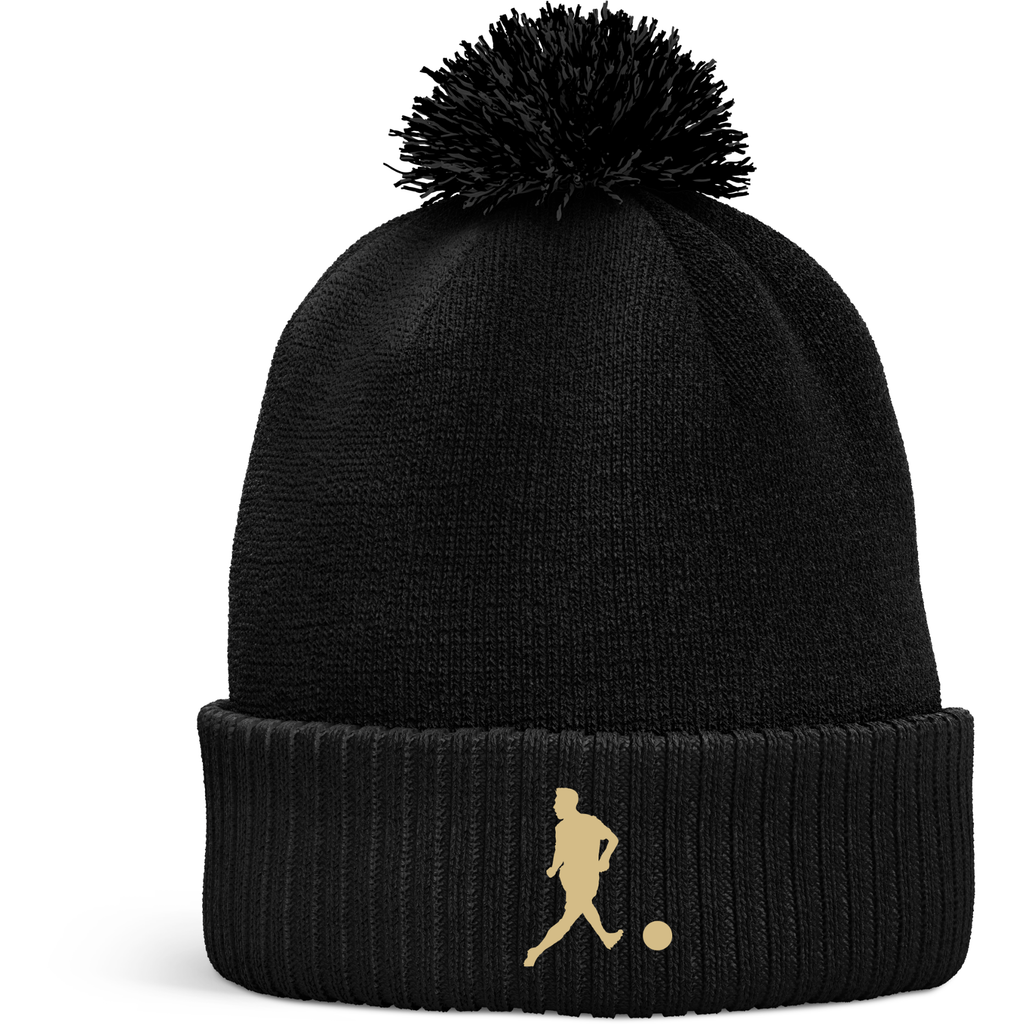 No Look Beanie hat (with bobble)