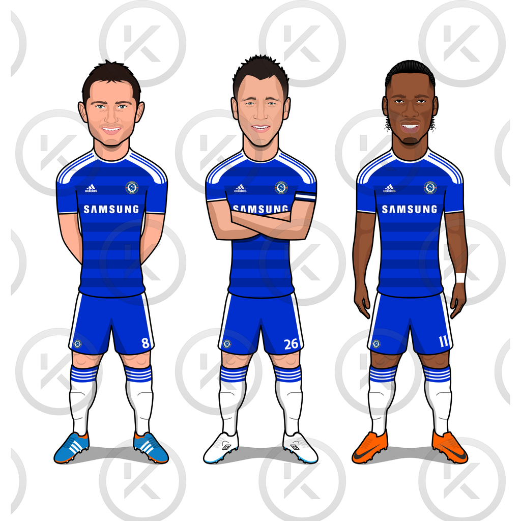 True Blues (Lampard, Terry, Drogba)